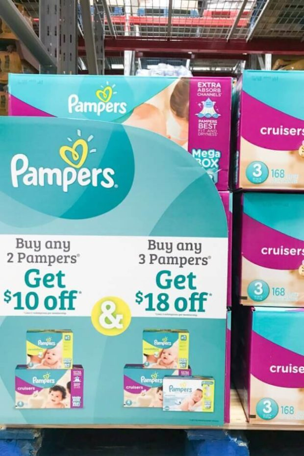Pampers Deal at Sam's Club