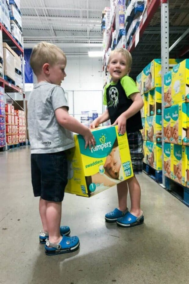 Pampers Swaddlers at Sam's Club