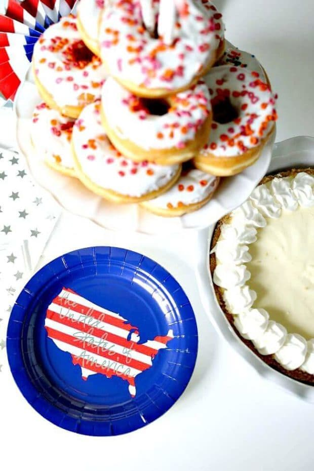 Red, White and Blue Food Ideas for 4th of July