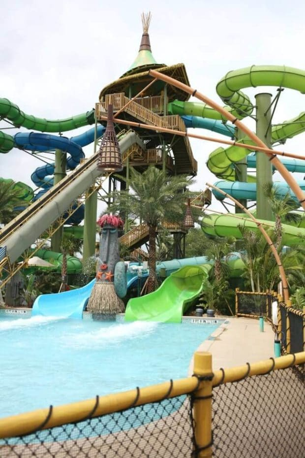 Volcano Bay Water Slide Review
