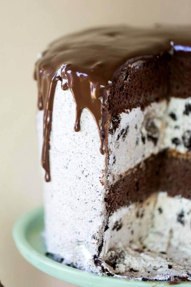 how to make oreo vanilla ice cream cake