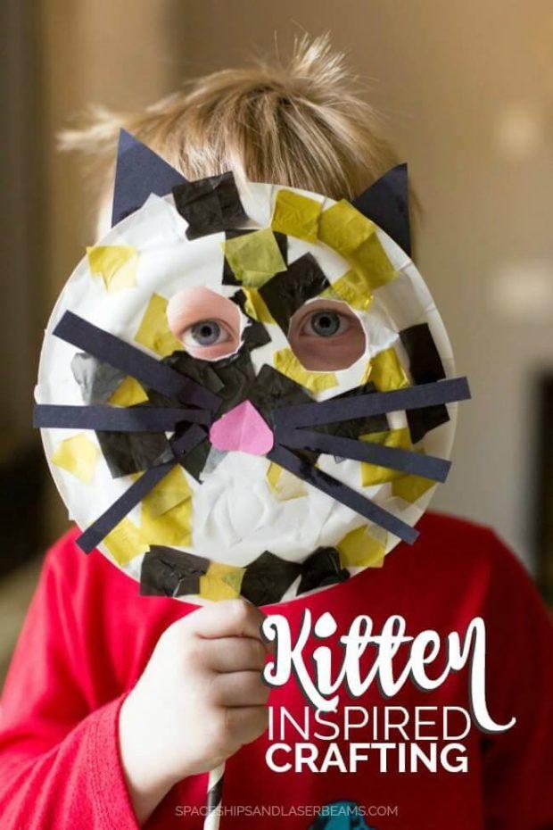 Kitten Inspired DIY Crafting
