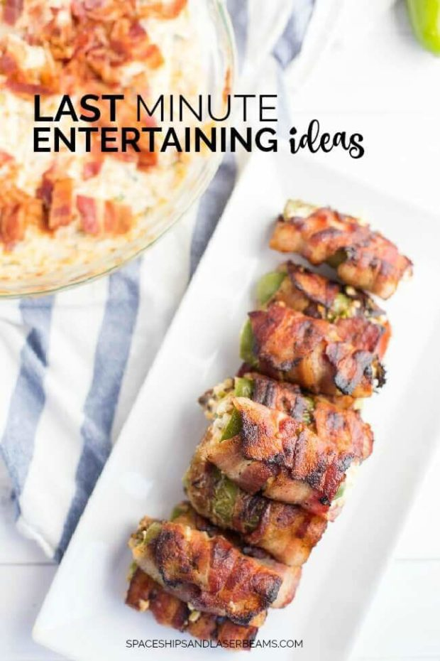 Last Minute Entertaining Ideas