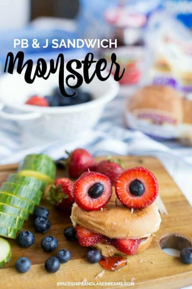 PB & J Sandwich Monster