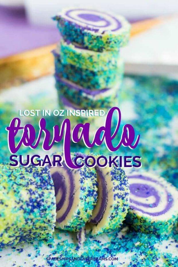 Tornado Sugar Cookies
