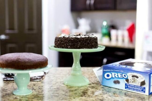 Oreo 174 Chocolate Ice Cream Cake Spaceships And Laser Beams