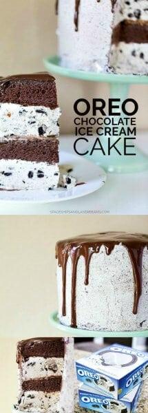 OREO® Chocolate Ice Cream Cake