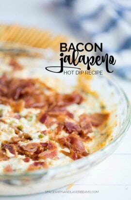 Bacon Jalapeno Party Dip