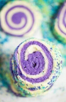 Baked Sugar Swirl Cookies