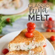 Classic Tuna Melt Recipe