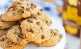 Easy Banana Chocolate Chip Cookies