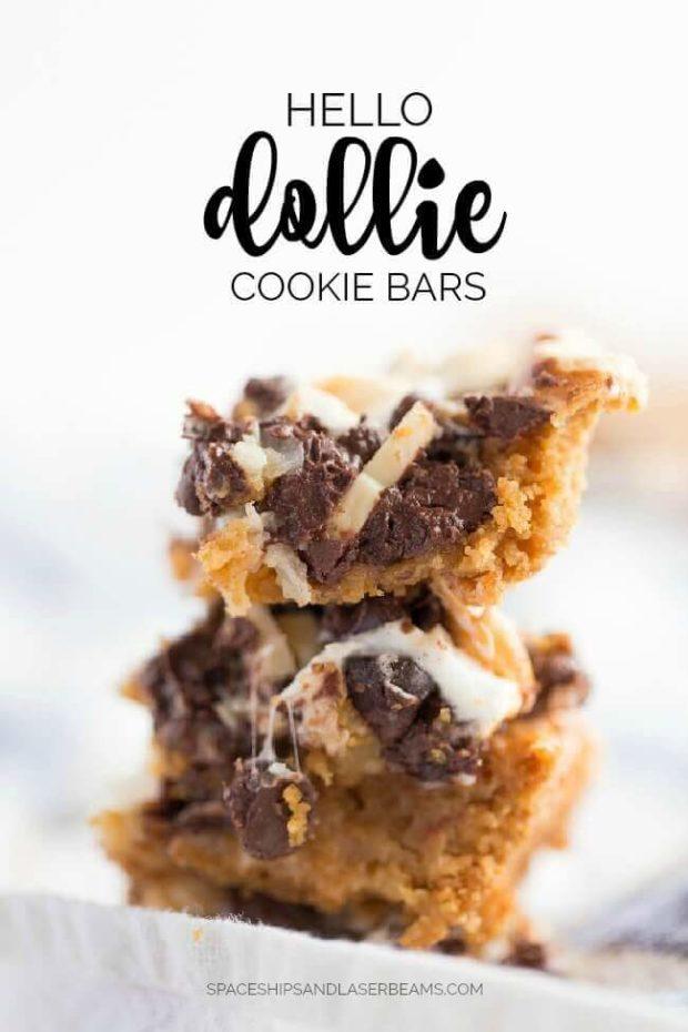 Hello Dollie Cookie Bars