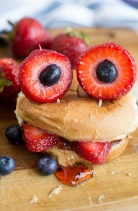 Monster Bento Box Sandwich