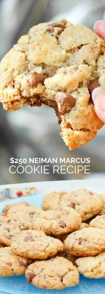 $250 Neiman Marcus Cookie Recipe