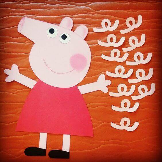 Pin the Tail on Peppa Game