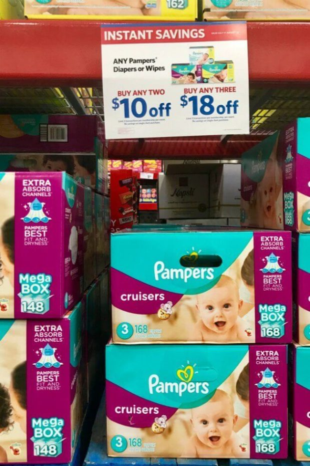 Pampers Sale at Sam's Club
