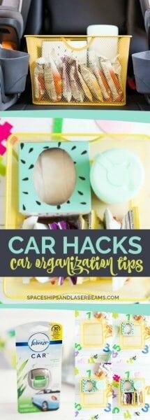 Car Hacks: Car Organization Tips
