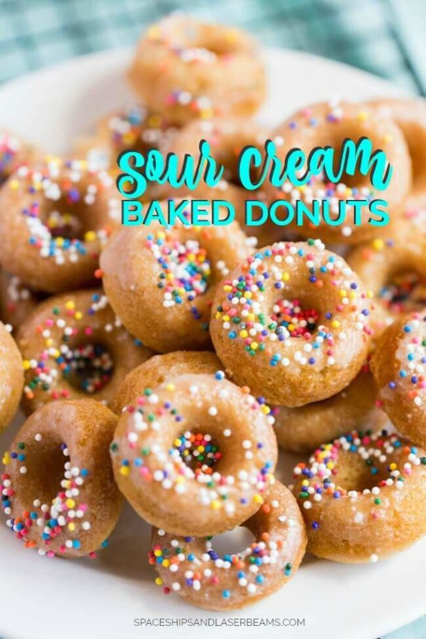 Baked Sour Cream Donuts