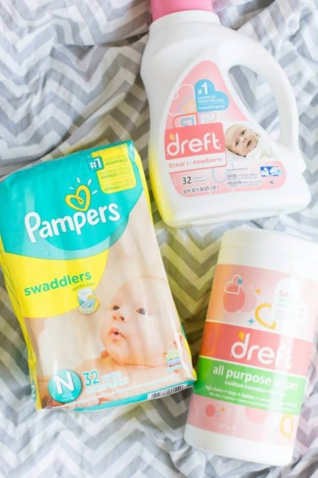 Dreft and Pampers
