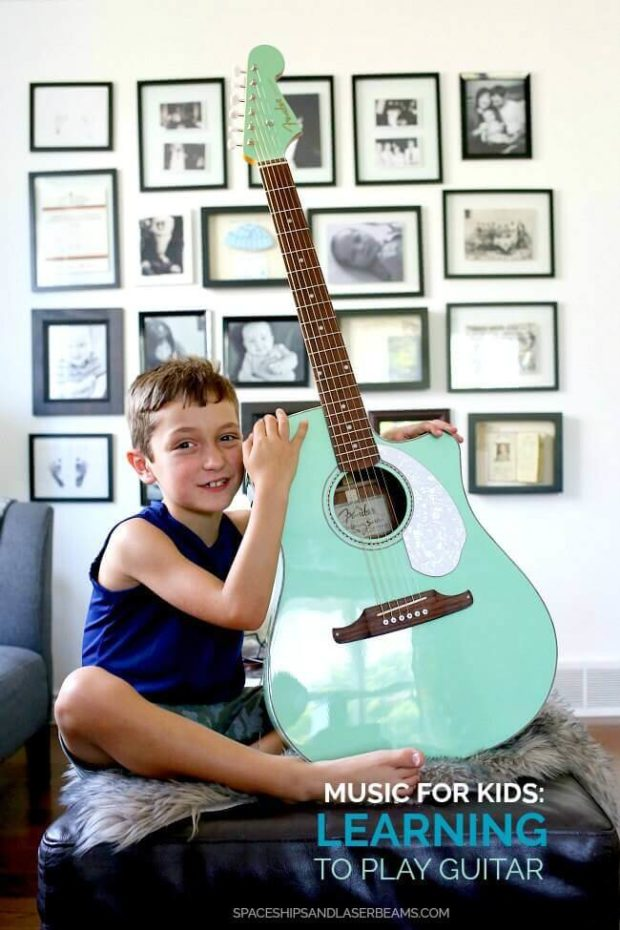 music for kids learning to play guitar spaceships and laser beams. Black Bedroom Furniture Sets. Home Design Ideas