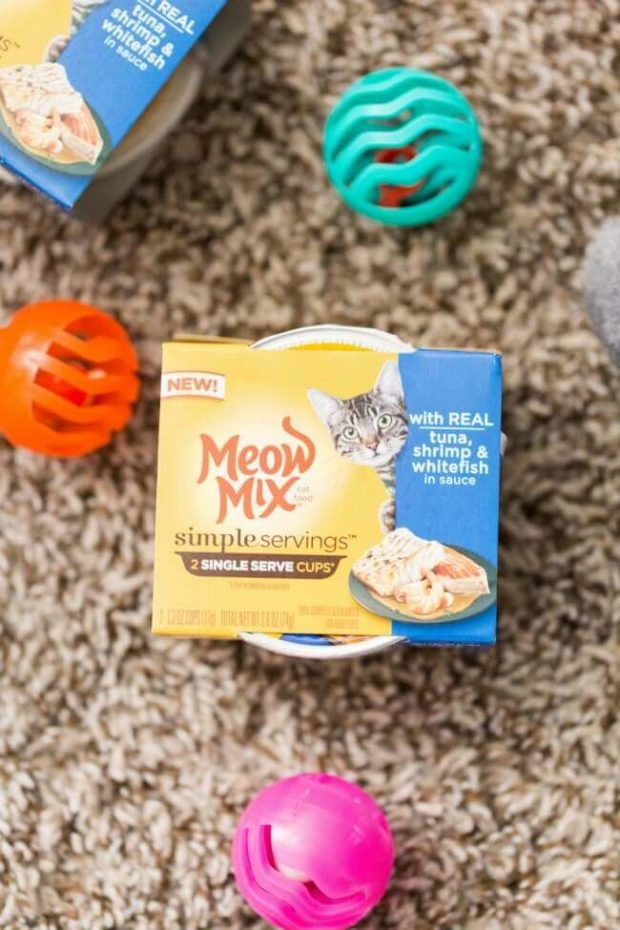 Meow Mix Simple Servings Cat Food