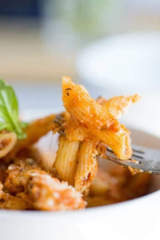 Recipe Baked Penne