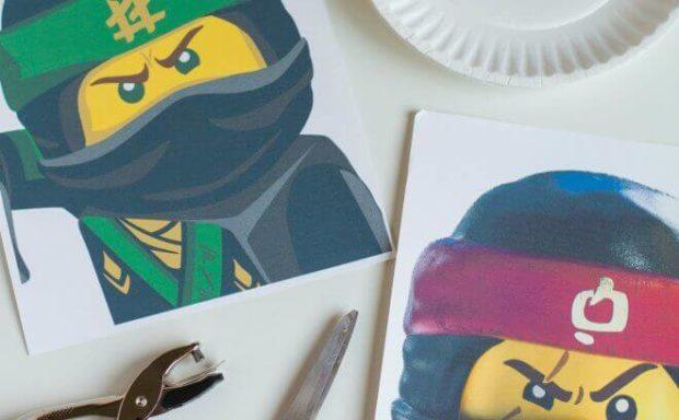 DIY LEGO Ninjago Movie Character Masks - Spaceships and