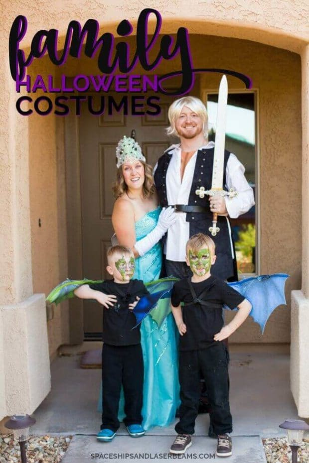 easy family halloween costumes