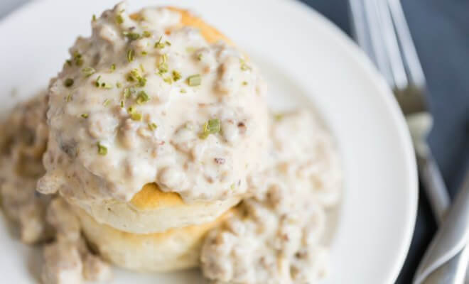Country Biscuits and Gravy
