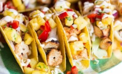 Stand & Stuff Shrimp Tacos