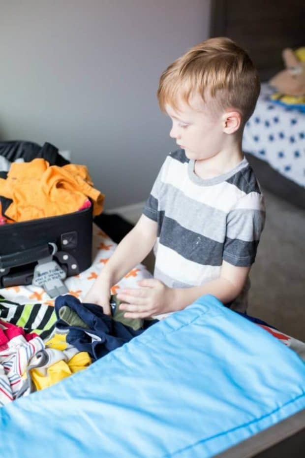 Packing with Children