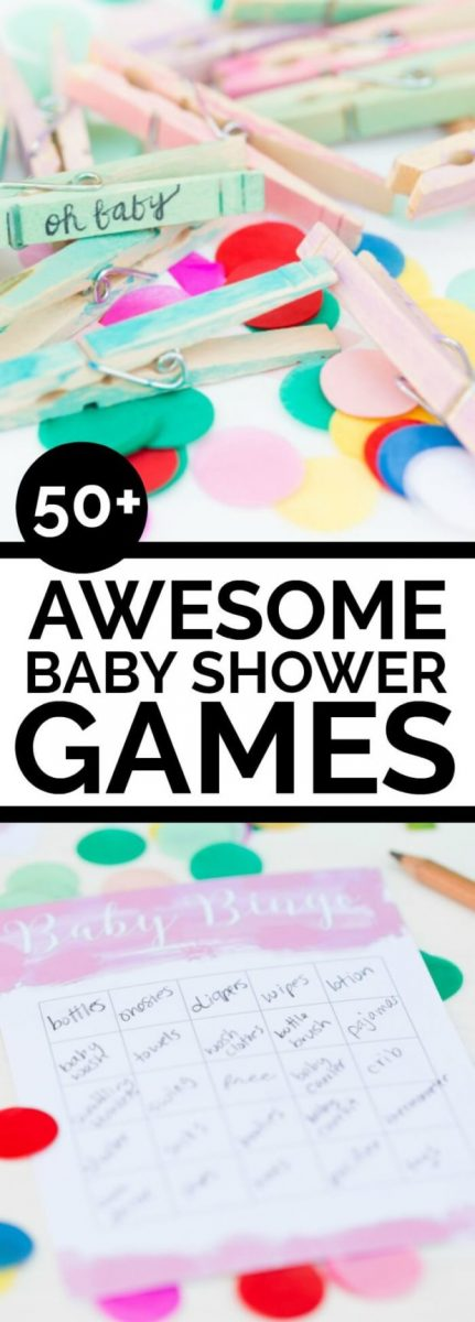 UNIQUE AND FUN BABY SHOWER GAMES FOR BABY BOYS AND BABY GIRLS