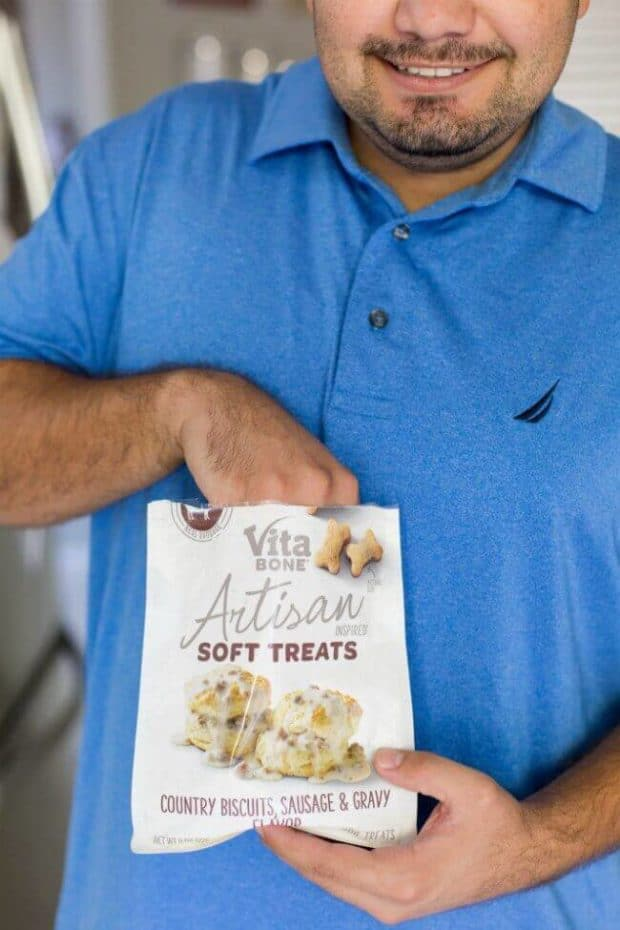 Vita Bone Country Biscuits and Sausage Gravy