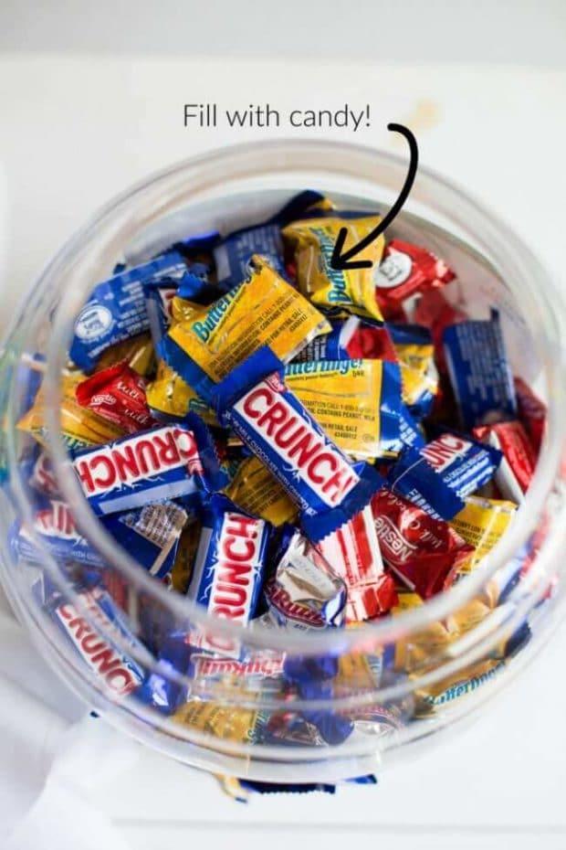 DIY Halloween Treat Container
