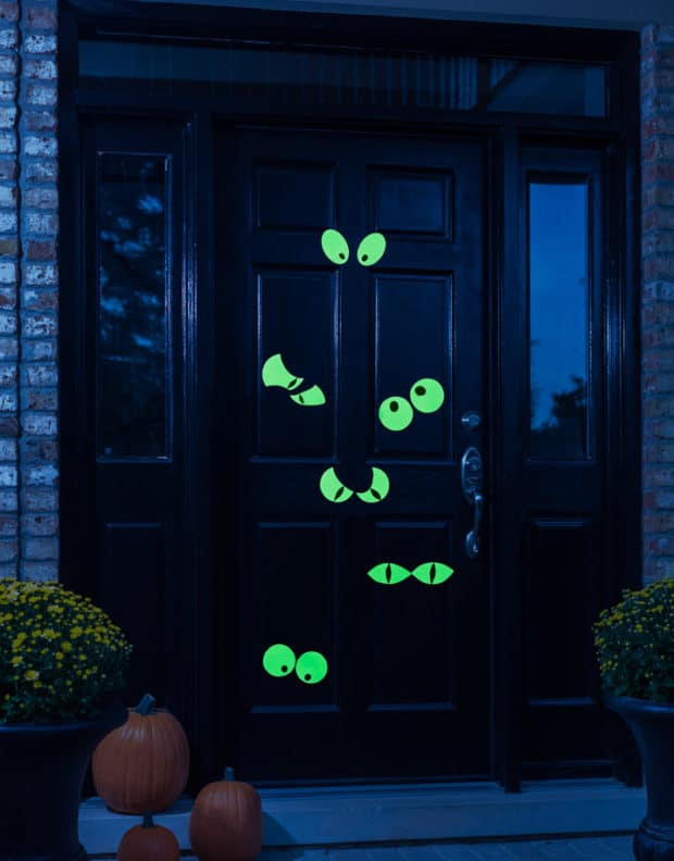 Halloween Door Spooky Eyes