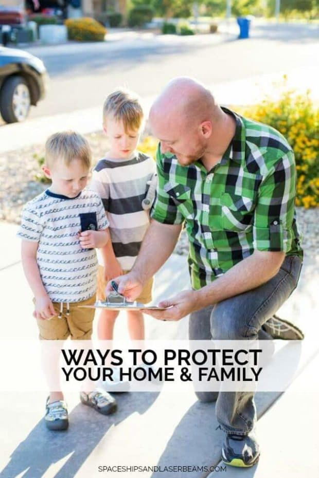 Family Emergency Planning: Ways to Protect Your Home & Family
