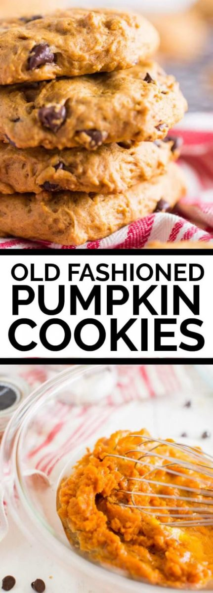 old fashioned pumpkin cookies