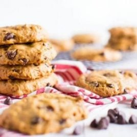 A close up of food, with Cookie