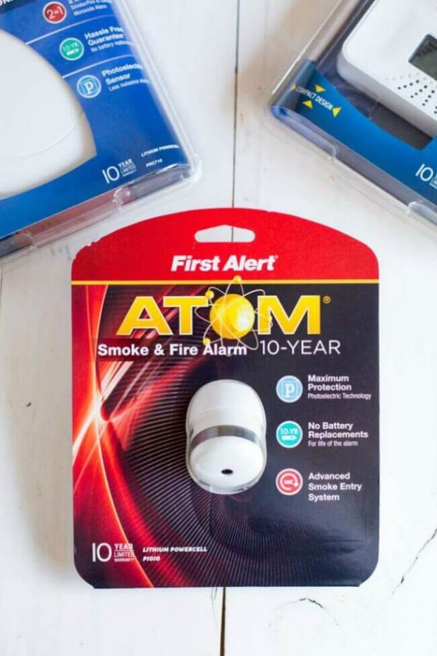 First Alert Smoke & Fire Alarm