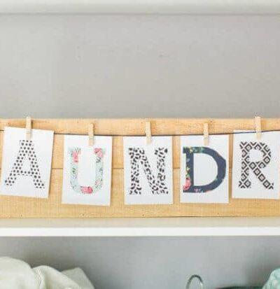 Laundry Room Artwork
