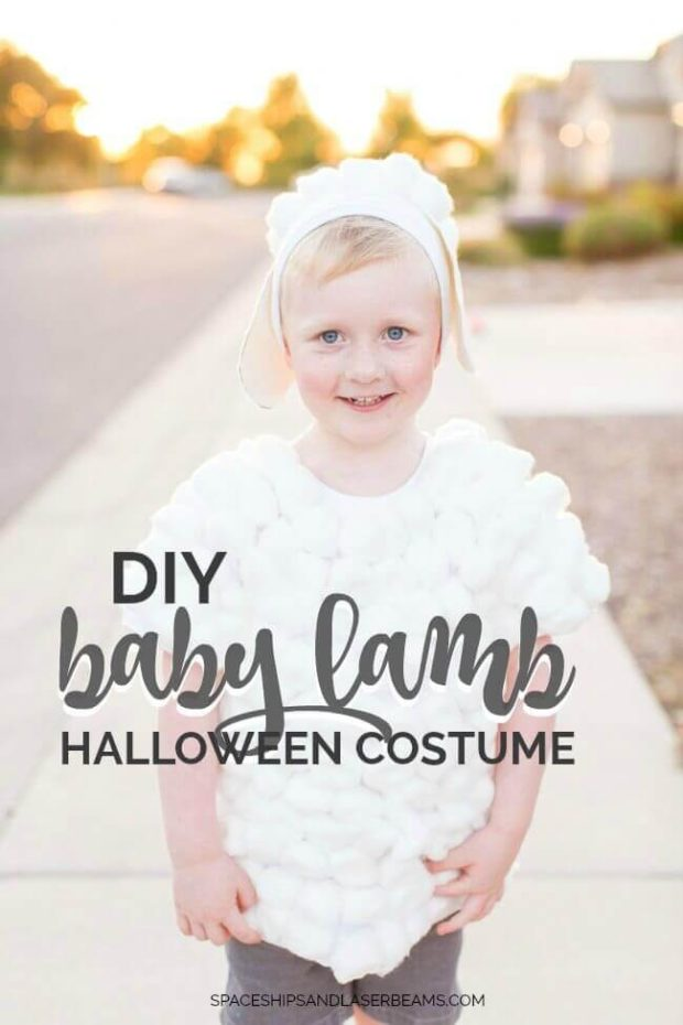 DIY Baby Lamb Halloween Costume  sc 1 st  Spaceships and Laser Beams & DIY Baby Lamb Halloween Costume | Spaceships and Laser Beams