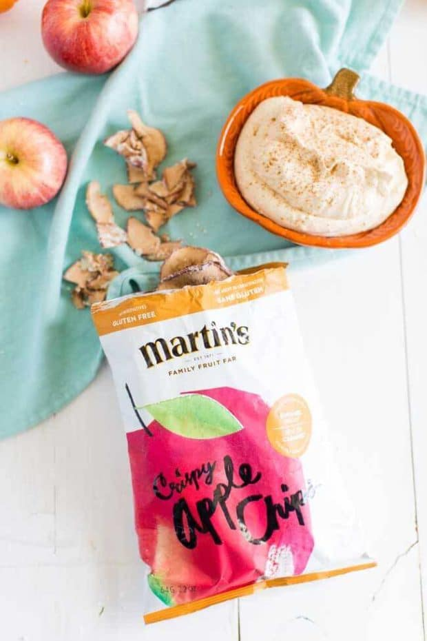 Martin's Crispy Apple Chips with Caramel