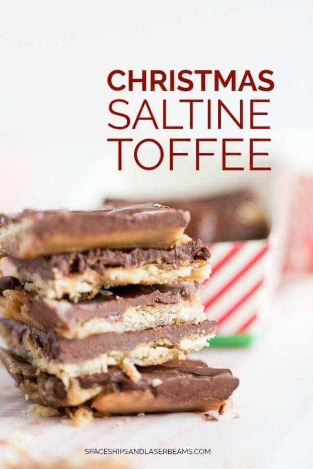 Christmas Saltine Toffee