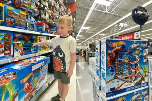 Hot Wheels Ultimate Garage at Walmart