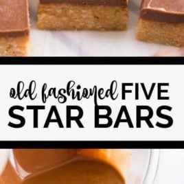 Old Fashioned Five Star Bars