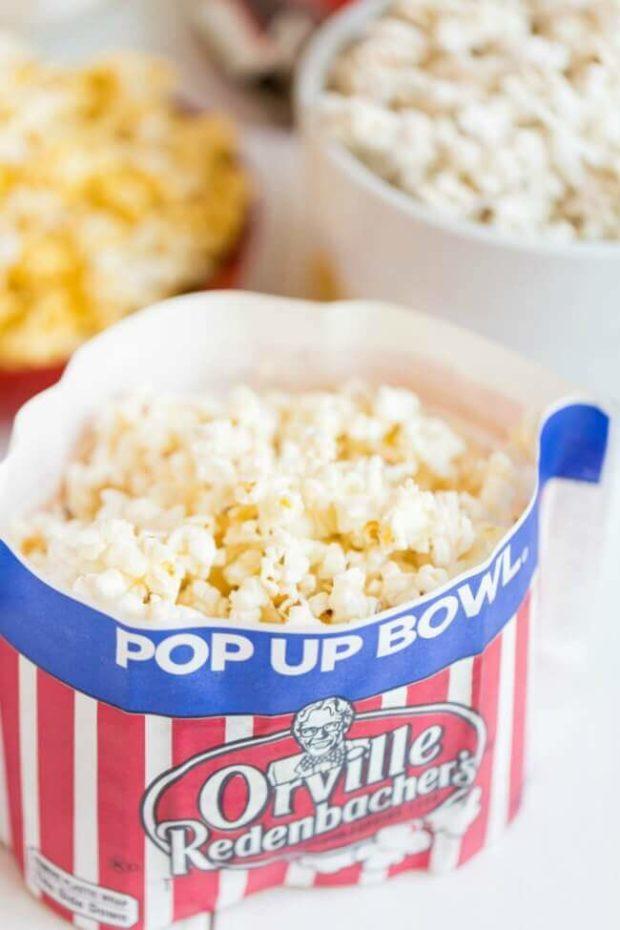 Pop Up Bowl from Orville Redenbacher