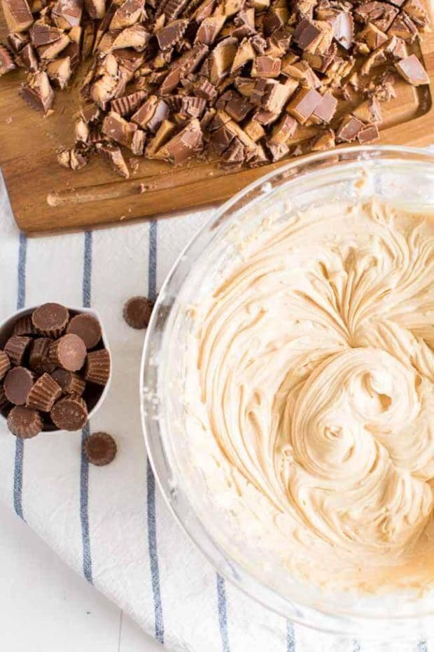 Texas Sheet Cake Peanut Butter Frosting
