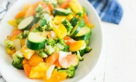 Easy Side Dishes: Simple Sauteed Vegetables