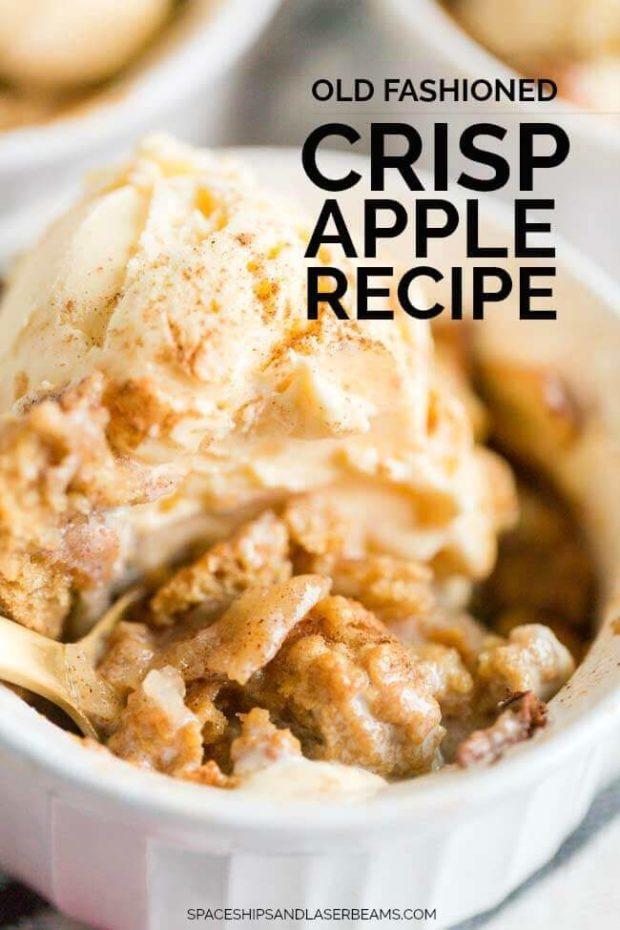 Old Fashioned Apple Crisp Recipe