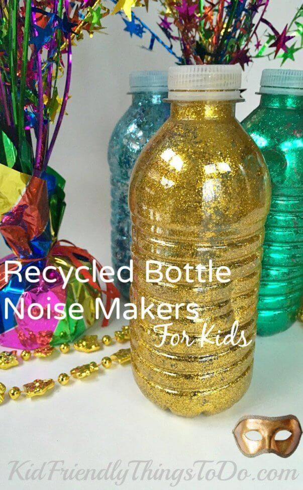 Recycled Water Bottle Noise Maker